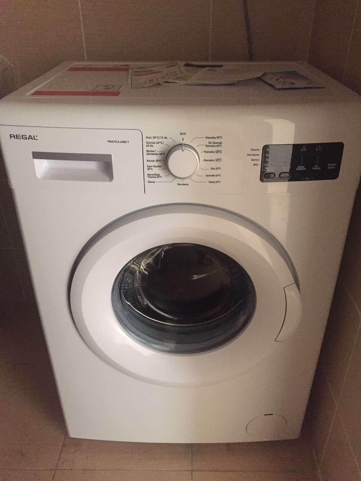 2 el çamaşır makinesi satmak istiyorum