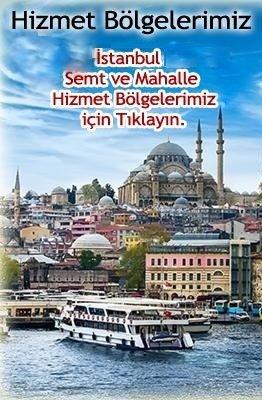 İstanbul Hizmet Bölgeleri
